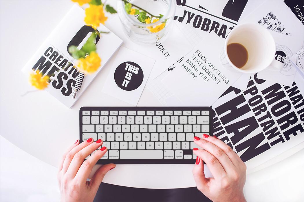 Tastatur mit Standardlayout